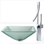 Kомплект для ванной комнаты Kraus C-GVS-901FR-19mm-1200CH