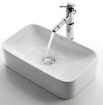 Kомплект для ванной комнаты Kraus C-KCV-122-1300CH