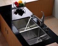 Мойка кухонная (нержавейка) Kraus KHU102-33