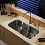 Кухонный смеситель (нержавейка) Kraus KPF-2160